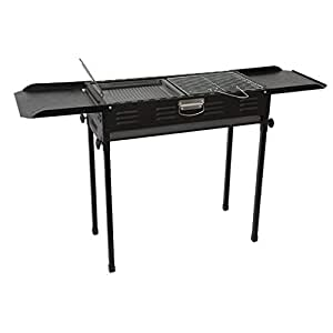 Amazon.com: SN Portable Charcoal Barbecue, Desk Stainless ...