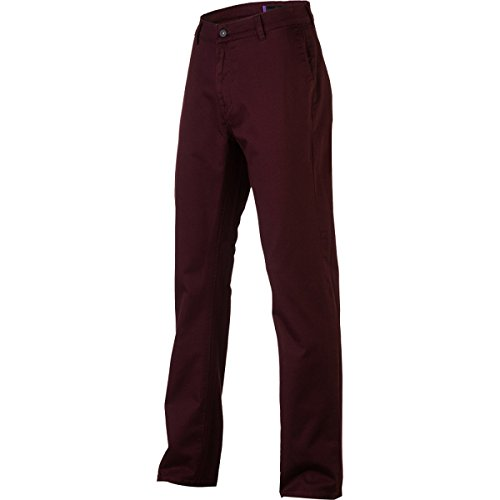 (KR3W Klassic Chino Pant - Men's Burgundy,)
