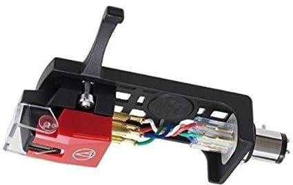 Audio-Technica VM540ML/H DJ Cartridge Negro, Rojo Cartucho de DJ y Aguja - Accesorio para DJ (64 g)
