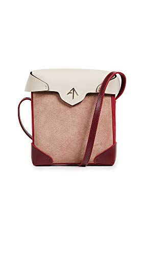 MANU Box Women's Mini Light Pristine Poudre Bag Red Beige Atelier rwrqR4a