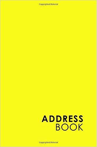 templates for address books