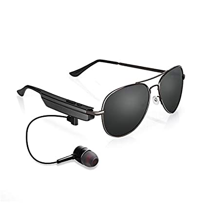 8990941252d8 Amazon.com  CoCocina Smart Bluetooth Glasses Usb Earphone Uv400 Sunglasses  For Phone Call Music  Kitchen   Dining