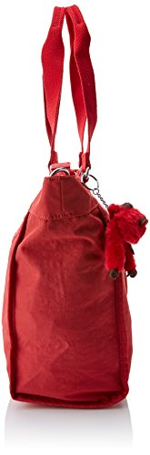 C S Red Femme Sac Shopper Kipling Spicy New Rouge q8FAUSw