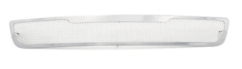 TRex Grilles 55172 Upper Class Small Mesh Stainless Polished Finish Bumper Grille Bolt-on for GMC Yukon