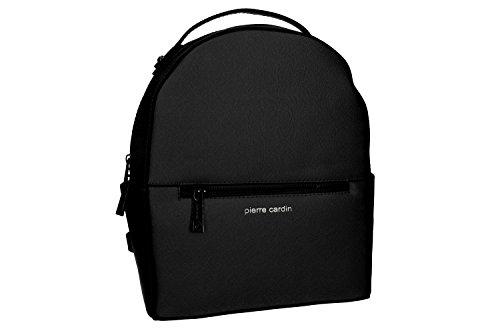 9fdd8d03e14cd Tasche damen rucksack schulter PIERRE CARDIN schwarz mit offnung zip VN997