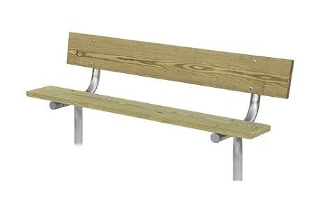 Pleasant Park Bench 6 Long Stationary Heavy Duty 2 3 8 Customarchery Wood Chair Design Ideas Customarcherynet