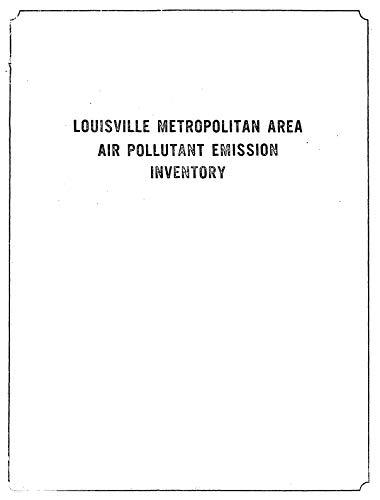 Louisville Metropolitan Area Air Pollutant Emission -