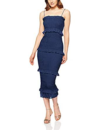 Winona Women's Xia 3/4 Dress, Navy, Large