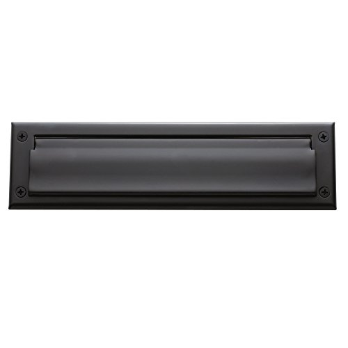 Baldwin Estate 0012.102 Letter Box Plate in Oil Rubbed Bronze, 13