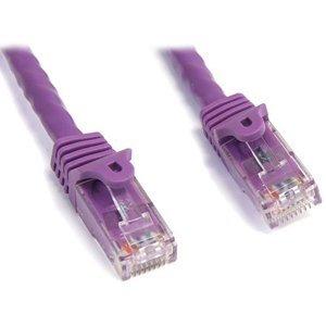startech.com n6patch3pl 3ft cat6 purple gigabit rj45 utp patch cord