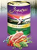 Zignature Grain Free Duck Canned Dog Food 12/13oz For Sale