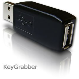 KeyGrabber USB Keelogger 16MB Black only for Apple Mac
