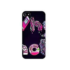 ZL Fashional Pattern Design Plastic Hard Case for iPhone 4/4S
