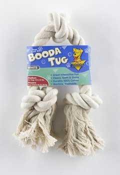3 Knot Booda Rope (Aspen/Booda Corporation Booda 3 Knot Rope Tug White Medium)