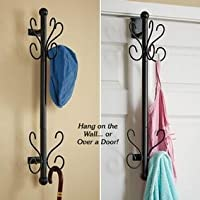 10 Hooks Zero Floor Space Coat Rack