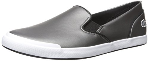 Lacoste Flat Shoes Womens (Lacoste Women's Lancelle Boat 317 1 Fashion Shoe, Black, 7 M US)