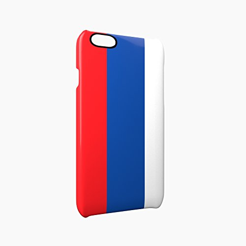 Flag of Russia Glossy Hard Snap-On Protective iPhone 6 Plus + / 6S Plus + Case Cover