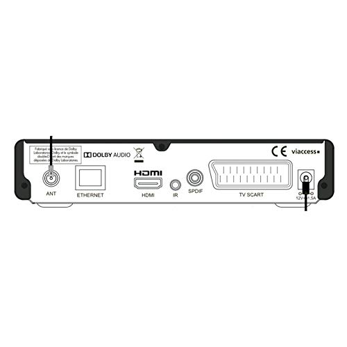 SIRIUS HD SERVIMAT Receptor de satélite + tarjeta Fransat + ...