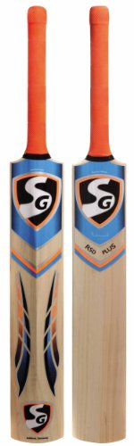 SG RSD Plus Kashmir Willow Cricket Bat  Color May Vary