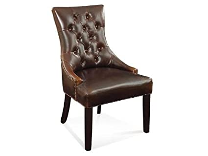 Fortnum Tufted Nailhead Parsons Chair - Set of 2  sc 1 st  Amazon.com & Amazon.com - Fortnum Tufted Nailhead Parsons Chair - Set of 2 - Chairs