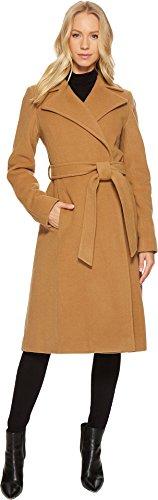 LAUREN Ralph Lauren Womens Wrap Coat Vicuna 14 One Size (Vicuna Cashmere)