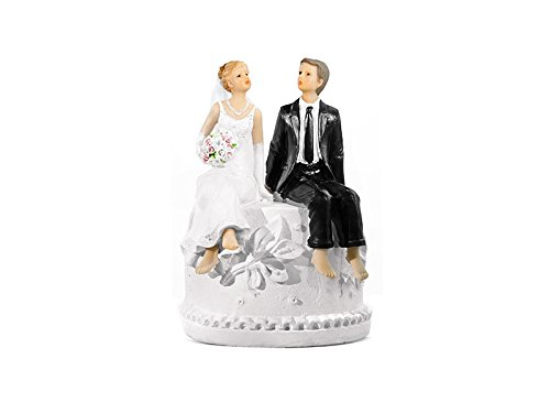 Topper Decorazione Wedding Cake SPOSI con SALVADANAIO PF28 P/&D IRPot