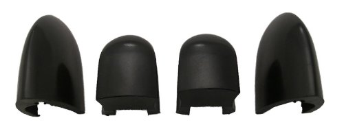 55-56 CHEVY FULL SIZE HEATER CONTROL KNOBS, BLACK Trim Parts
