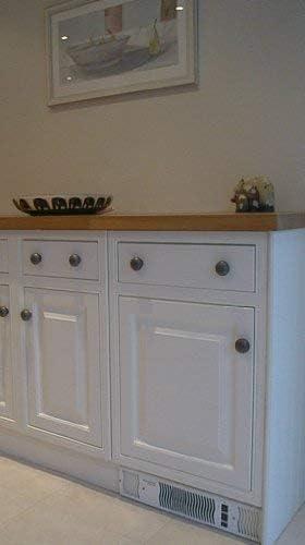 Diamond 500 Central Heating Kitchen Plinth Heater: White Grille Under Cupboard Heater