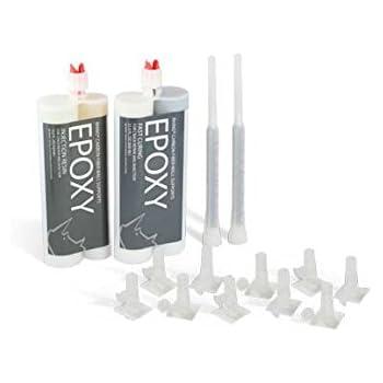 6-10' Epoxy Concrete Crack Repair Kit, Epoxy Basement Crack Repair