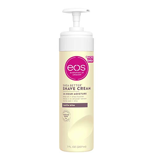 eos Shea Better Shaving Cream for Women - Vanilla Bliss | Shave Cream, Skin Care and Lotion with Shea Butter and Aloe | 24 Hour Hydration | 7 fl oz 6