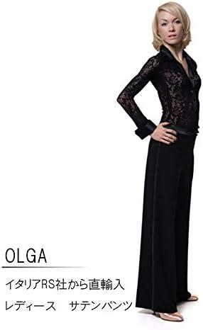 (アールエスアトリエ) RS Atelier 「Olga」 女性用パンツ  社交ダンス レッスンウェア ダンス パンツ 女 女性 ストレッチ  Medium