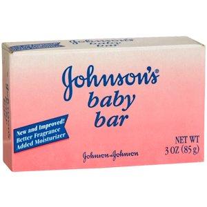 JOHNSON'S BABY BAR 3OZ J& J CONSUMER SECTOR Choice One 90069204RDCA