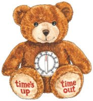 Genius Baby Toys Time Out Plush Bear with