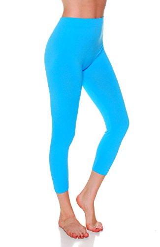 - 31EnA8acSPL - Emmalise Women's Active Athletic Capri Seamless Legging – Junior and Plus Sizes