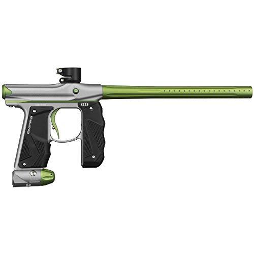 Empire Mini GS Paintball Marker - Dust Silver/Green