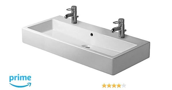 Duravit 04541000261 100 cm Vero Wash Basin, White - - Amazon.com