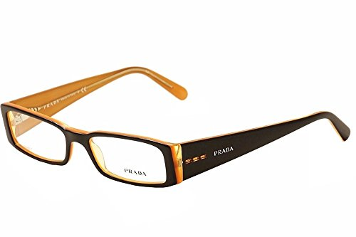 PRADA EYEGLASSES VPR 10F BLACK - Sunglasses Prada Models