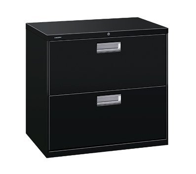 HON 600 Series Two-Drawer Lateral File, 30w x19-1/4d, Light Gray (Case of 2)
