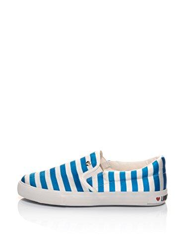 Love Moschino Slip-On D.Lav.04/20 Blanco / Azul EU 40