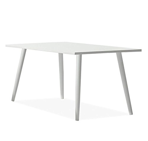 Esstisch Destiny Naples 160 x 90 cm Tisch Gartentisch Alu Weiß Alutisch Weiß