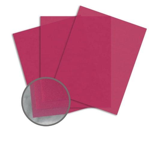 Glama Natural Blush Paper - 8 1/2 x 11 in 27 lb Bond Translucent Vellum 500 per Ream