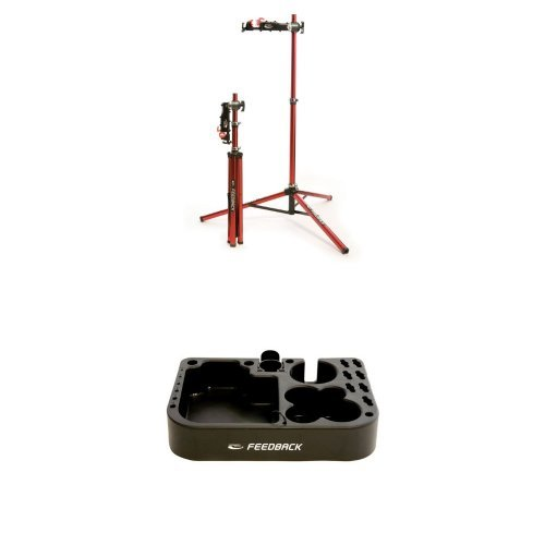 Feedback Sports Repair Stand and Tool Tray Bundle