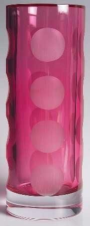 Lenox Kate Spade Bonita Street Pink 7 Inch Bud Vase