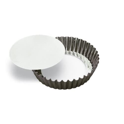 Browne Foodservice 80124810 Tin Quiche Pan, High Rim, 4-Inch