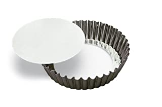 SCI Scandicrafts Fluted Deep Tart/Quiche Mold, Removable Bottom 10-inch Diameter by 2-inch Deep (B00004S1BX)   Amazon Products