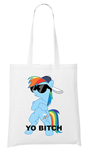 Sac Blanc Pony Bitch Yo Bitch Yo qtwxIwX
