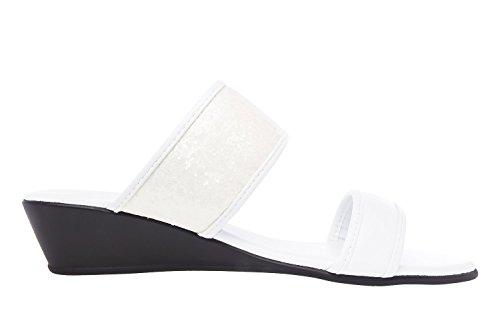 a 45 Blanco Machado Grandes Tallas Soft Andres 42 Mujer AM5065 Sandalias Sandalias 8xzqCzwfp