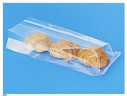 100 Bag Set - Gussett Style 5 Inch X 2.5 Inch X 11 Inch Cello Bags - Clear 1.2 Mil (2.5 Inch Flat Card)