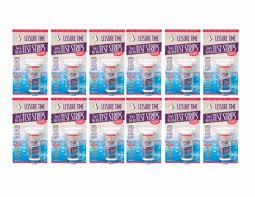 Leisure Time Chlorine Test Strips (12 Pack) by LEISURE TIME