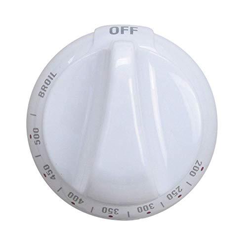 Range Thermostat Control - Lifetime Appliance WB03K10036 Knob for General Electric Stove/Range